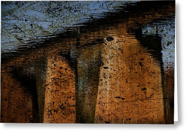 Lexington South Carolina Greeting Cards - Bridge To Nowhere Greeting Card by Steven Richardson