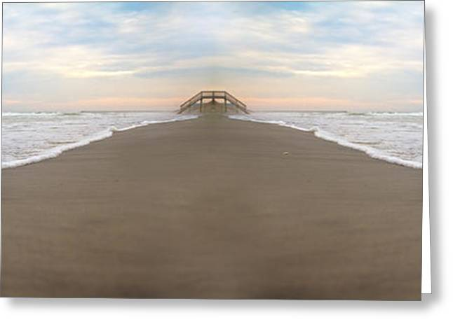 Bridge To Parallel Universes  Greeting Card by Betsy C Knapp