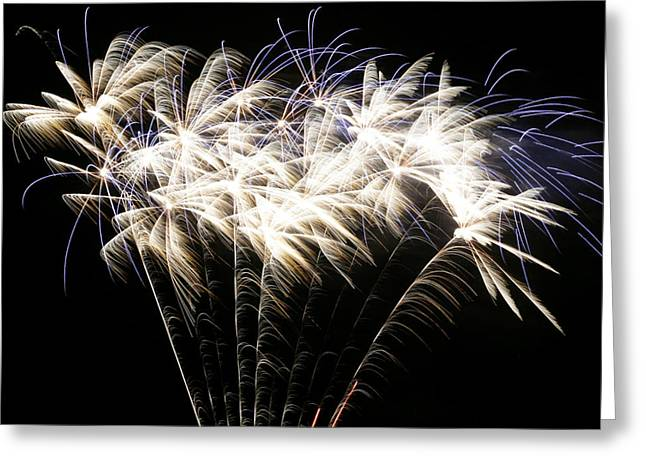 4th July Greeting Cards - Bright Lights Greeting Card by Phill  Doherty