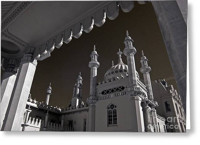 Infer Greeting Cards - Brighton Pavilion Architecture 1 Greeting Card by Steven Cragg