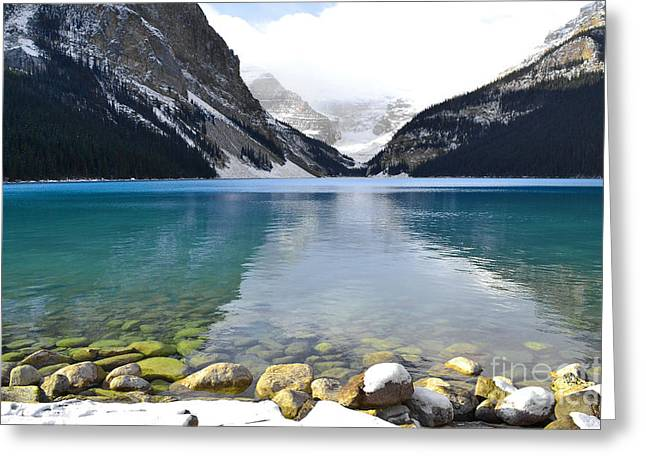 Rocky Mountain National Park Framed Prints Greeting Cards - Brilliance at Louise Greeting Card by Andrea Hazel Ihlefeld