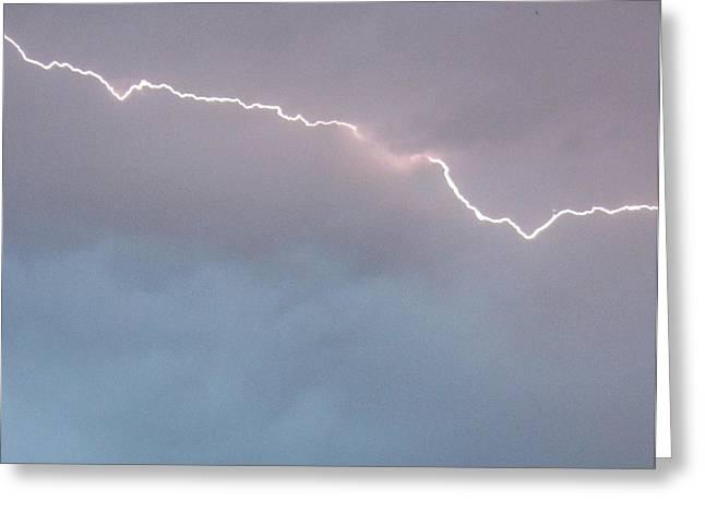 Lightning Bolt Pictures Greeting Cards - Brilliant Bolt Greeting Card by Elizabeth  Sullivan