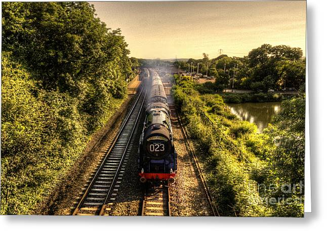 Peverell Greeting Cards - Britannia at Tiverton Parkway Greeting Card by Rob Hawkins