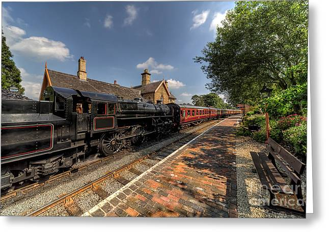 Locomotion Greeting Cards - British Locomotion Greeting Card by Adrian Evans