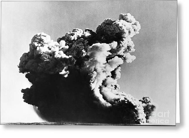 Montebello Greeting Cards - British Nuclear Test, 1952 Greeting Card by Granger
