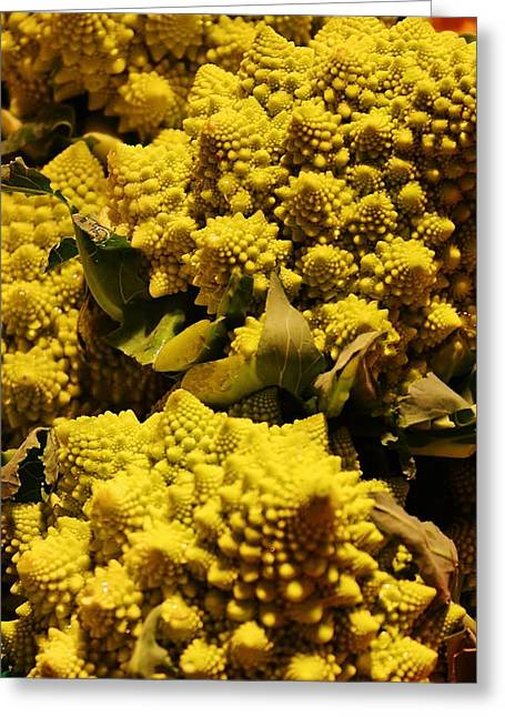 Broccoli Greeting Cards - Broccoli of a Different Kind Greeting Card by Bruce Bley