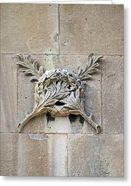 Lion Gargoyle Greeting Cards - Brocks Monument 13 Greeting Card by Cyryn Fyrcyd