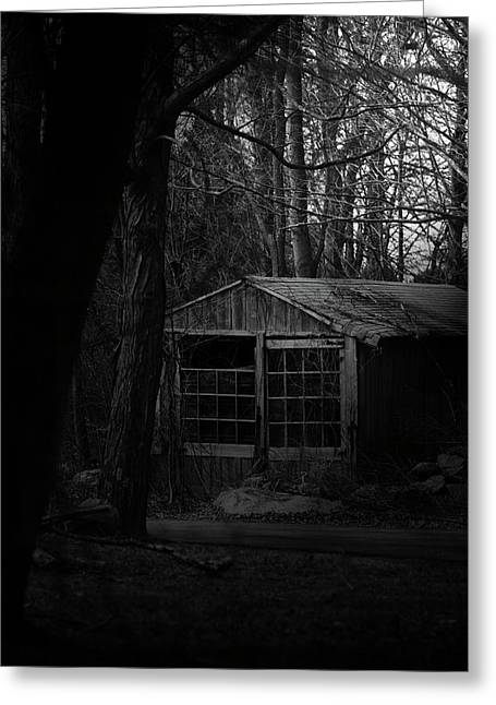 Outbuildings Greeting Cards - Broken Greeting Card by Karol  Livote