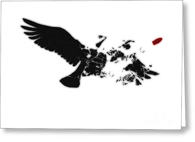 Peace Doves Greeting Cards - Broken Peace Greeting Card by Pixel Chimp