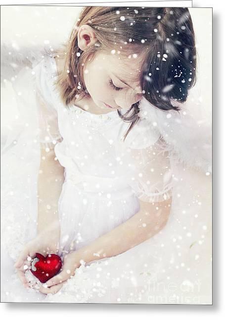 Innocence Child Greeting Cards - Broken Greeting Card by Stephanie Frey