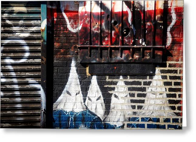 Spay Greeting Cards - Bronx Graffiti - 3 Greeting Card by RicardMN Photography