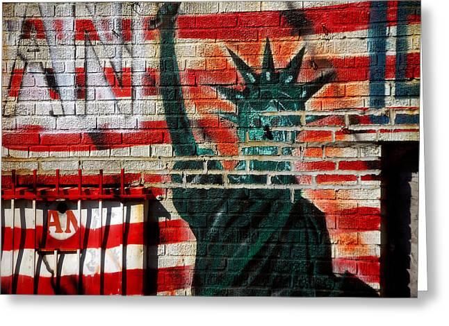 Spay Greeting Cards - Bronx Graffiti - 4 Greeting Card by RicardMN Photography