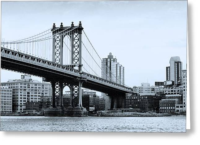 Brooklyn Bridge Greeting Card by Photography Art