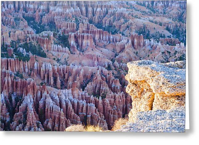 Utah Greeting Cards - Bryce Point Greeting Card by Joseph Rossi