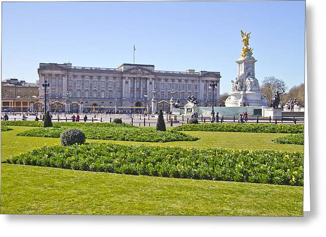 Buckingham Palace Greeting Cards - Buckingham Palace  Greeting Card by David French