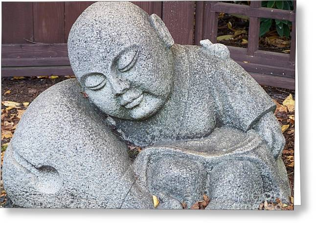 Neurotic Images Photography Greeting Cards - Buddha Greeting Card by Chalet Roome-Rigdon