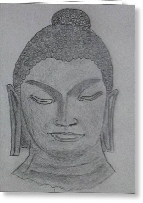 Buddha Greeting Card by Monika