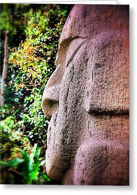 Buddha Nature Greeting Card by Skip Hunt