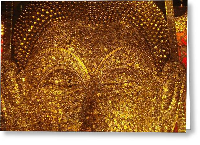 Buddha  Greeting Card by PRASENJIT DHAR