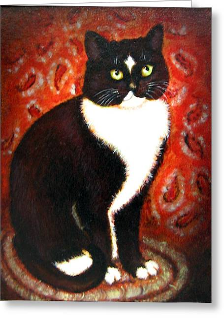 Braided Rugs Greeting Cards - Buddy Greeting Card by Karen Roncari