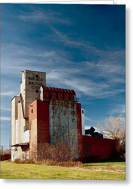 Maltings Greeting Cards - Buffalo Malting Corp 3414c Greeting Card by Guy Whiteley