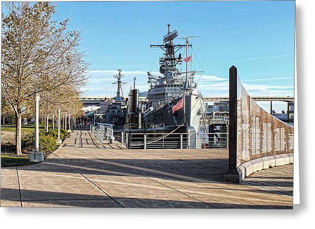 Western New York Greeting Cards - Buffalo Naval and Military Park Greeting Card by Peter Chilelli