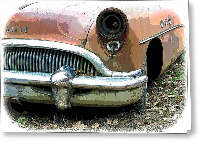 Buick Greeting Card by Steve McKinzie