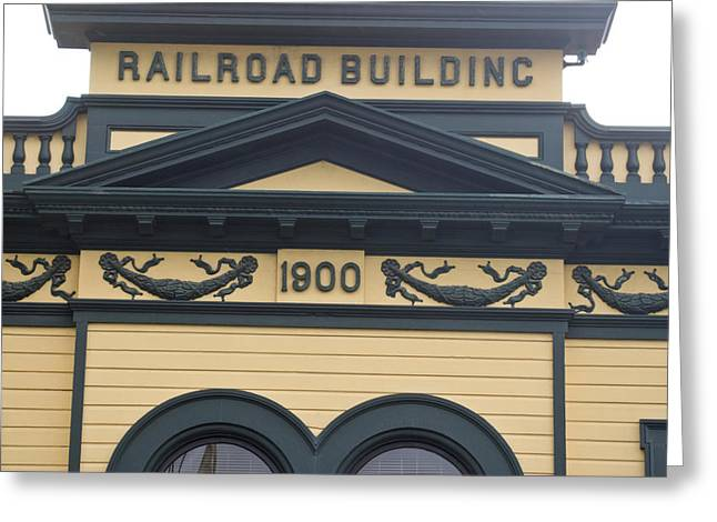 Klondike Gold Rush Greeting Cards - Building At Klondike Gold Rush National Greeting Card by Michael Melford