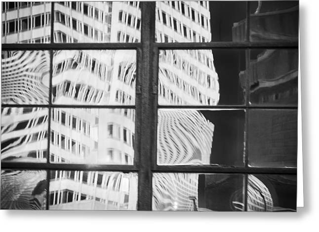 Minnesota Photo Greeting Cards - Building Reflections Greeting Card by Susan Stone
