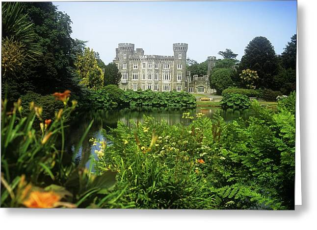 Garden Statuary Greeting Cards - Building Structure In A Garden Greeting Card by The Irish Image Collection