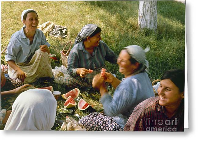 Bulgaria: Peasants Greeting Card by Granger