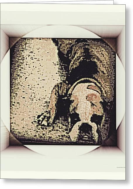Yomamabird Rhonda Greeting Cards - Bulldog Hall Greeting Card by YoMamaBird Rhonda