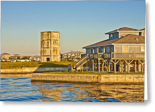 Topsail Island Greeting Cards - Bumblebee Tower 2 Greeting Card by Betsy A  Cutler