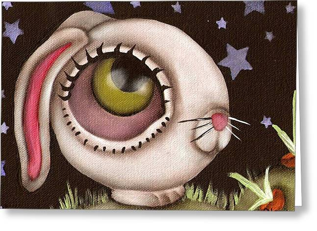 Bunny Greeting Cards - Bun Greeting Card by  Abril Andrade Griffith