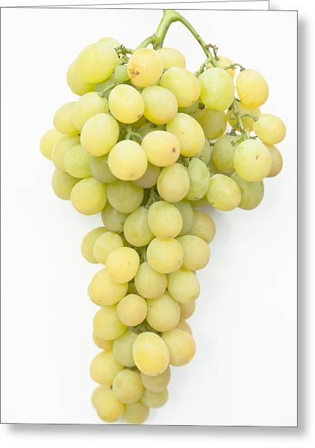 Bunch Of Grapes Greeting Card by Maj Seda