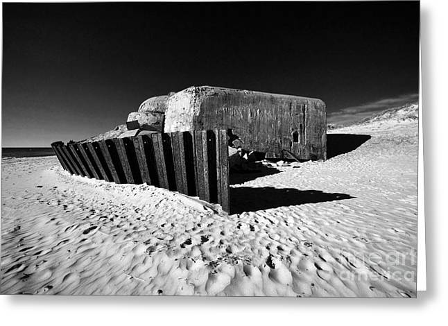 Greeting Cards - Bunker Greeting Card by Holger Ostwald