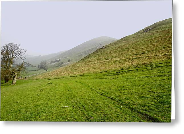 Countryside Greeting Cards - Bunster Hill Footpath at Ilam Greeting Card by Rod Johnson