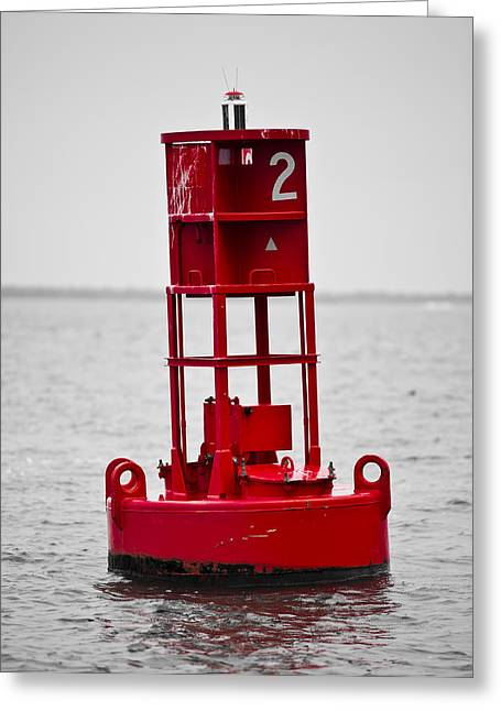 Donny Greeting Cards - Buoy Two Greeting Card by Donni Mac