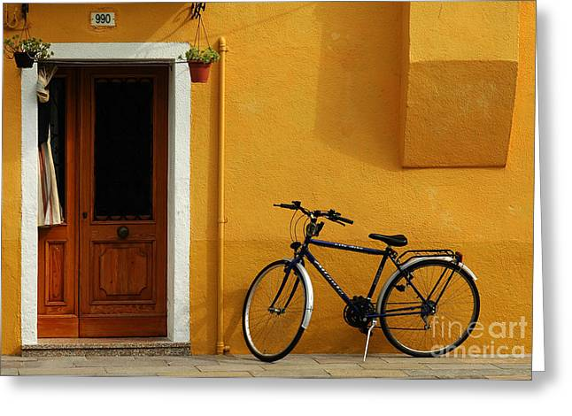 Mike Nellums Greeting Cards - Burano Italy 13 Greeting Card by Mike Nellums