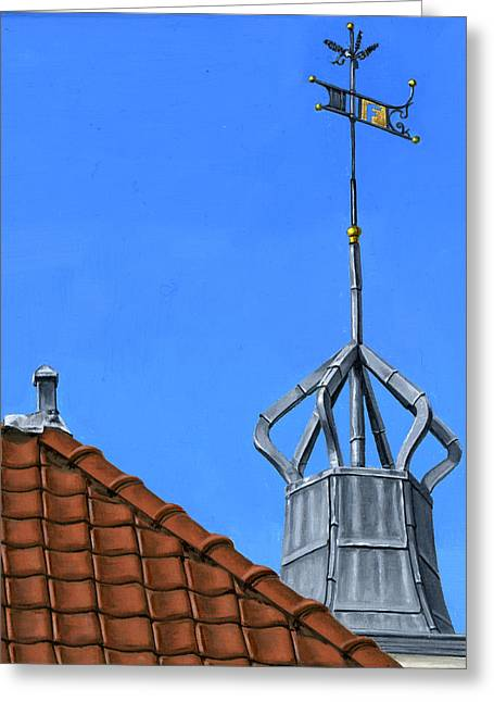 Photorealism Greeting Cards - Bureau of Tourism Amsterdam Greeting Card by Rob De Vries