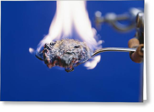 Burning Sugar Greeting Card by Andrew Lambert Photography