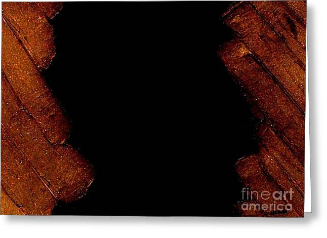 Knife Work Greeting Cards - Burnt Toast Greeting Card by Marsha Heiken