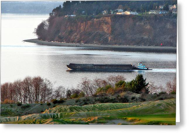 Us Open Photographs Greeting Cards - Business as Usual Greeting Card by Chris Anderson