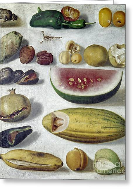 1874 Greeting Cards - Bustos: Still Life, 1874 Greeting Card by Granger