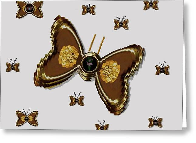 Praying Hands Mixed Media Greeting Cards - Butterflies for the worlds  future Greeting Card by Pepita Selles