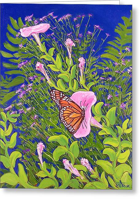 Covered Bridge Greeting Cards - Butterfly 2 Greeting Card by Vermont Artworks