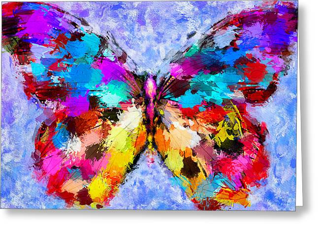 Enjoy Digital Art Greeting Cards - Butterfly 2 Greeting Card by Yury Malkov