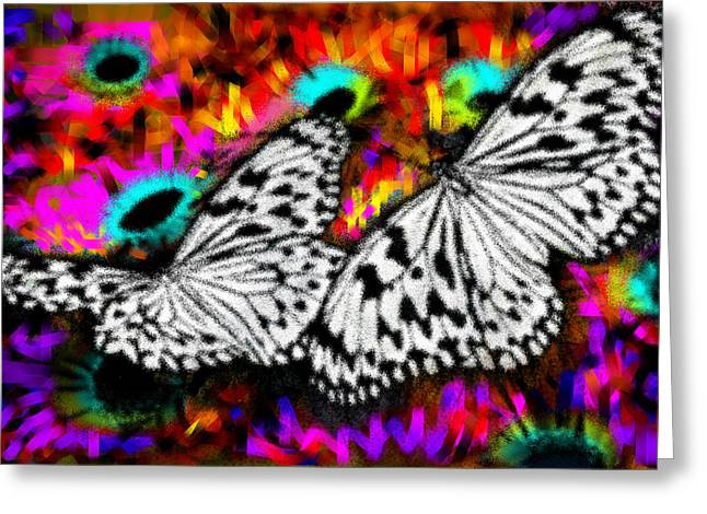 Lake Greeting Cards - Butterfly Greeting Card by Ilias Athanasopoulos