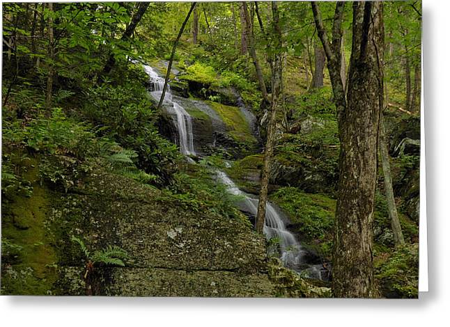 Buttermilk Falls Greeting Cards - Buttermilk Falls - Tillmans Ravine Greeting Card by Stephen  Vecchiotti
