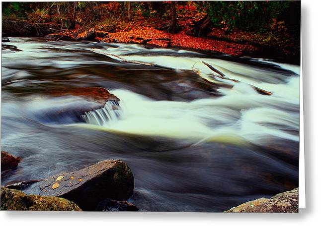 Best Sellers -  - Buttermilk Falls Greeting Cards - Buttermilk Falls Greeting Card by Anthony Narkon